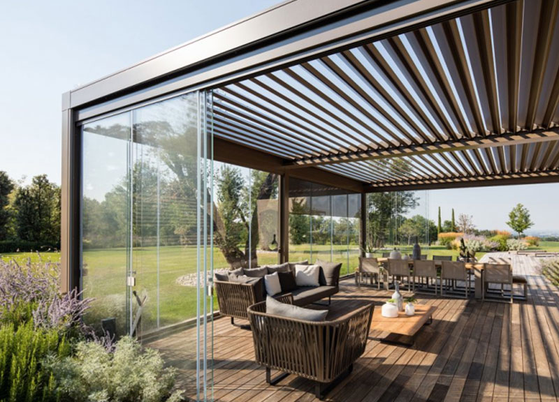 Zip Blinds for Residential Project